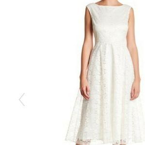 Betsey Johnson Sleeveless Lace Dress